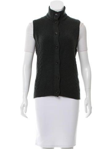 Loro Piana Cashmere Knit Vest None