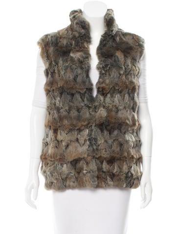 Loro Piana Cashmere-Lined Fur Vest None