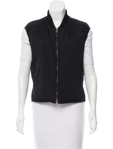Loro Piana Quilted Zipped Vest None
