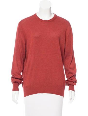 Loro Piana Crew Neck Silk Sweater None