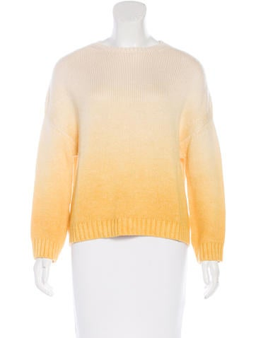 Loro Piana Ombré Cashmere-Blend Sweater None