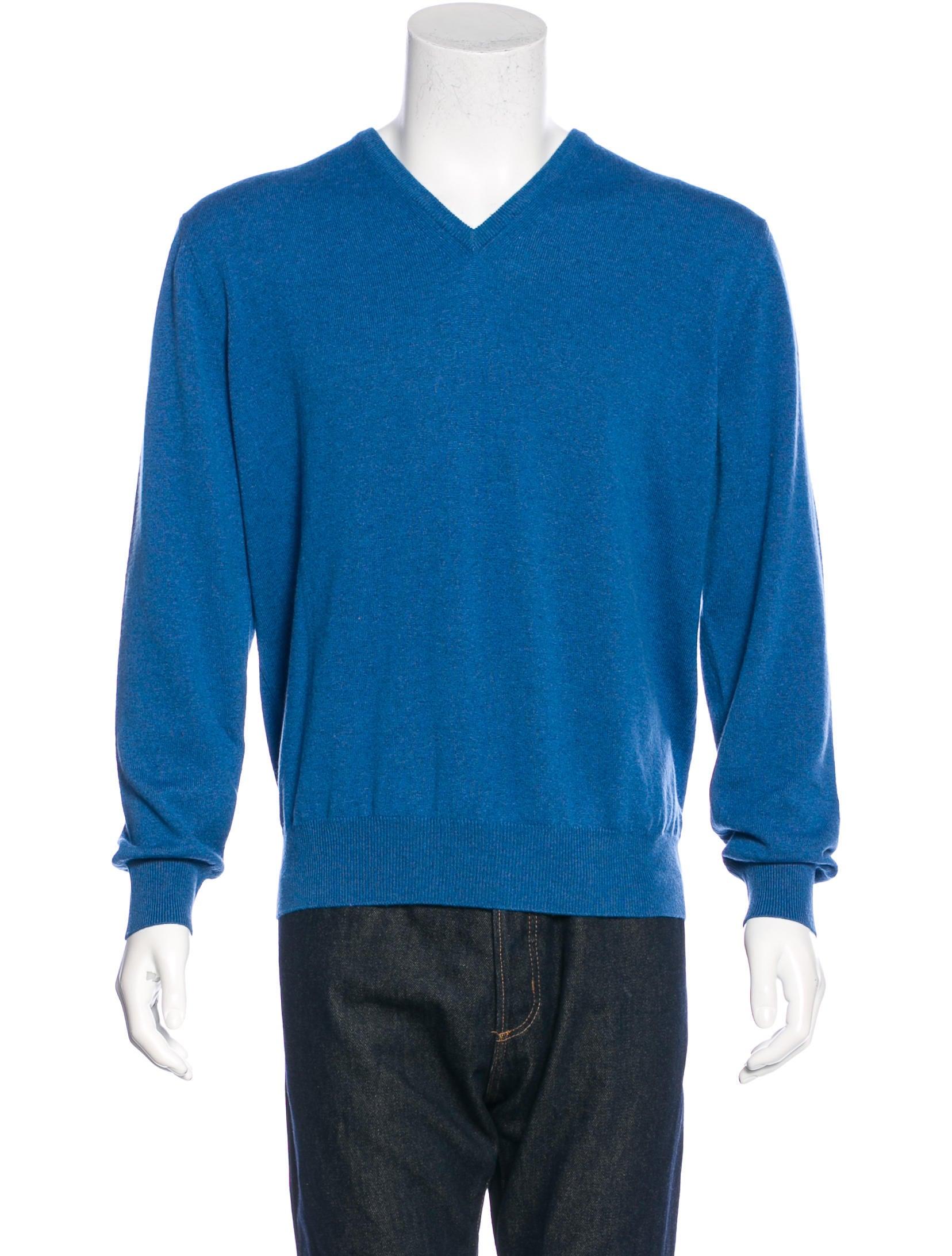 Loro Piana Baby Cashmere V-Neck Sweater w/ Tags - Clothing ...
