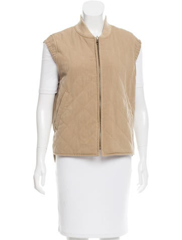 Loro Piana Wool Quilted Vest None