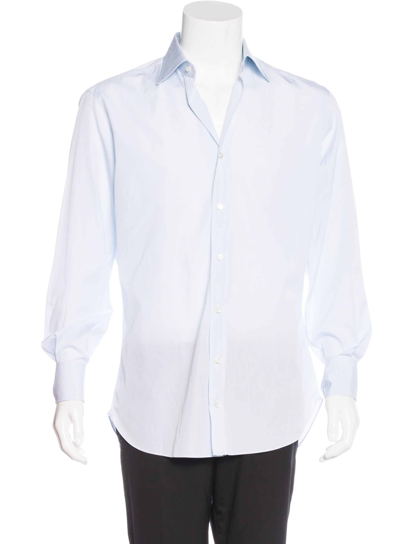 Loro Piana French Cuff Dress Shirt Clothing Lor35109