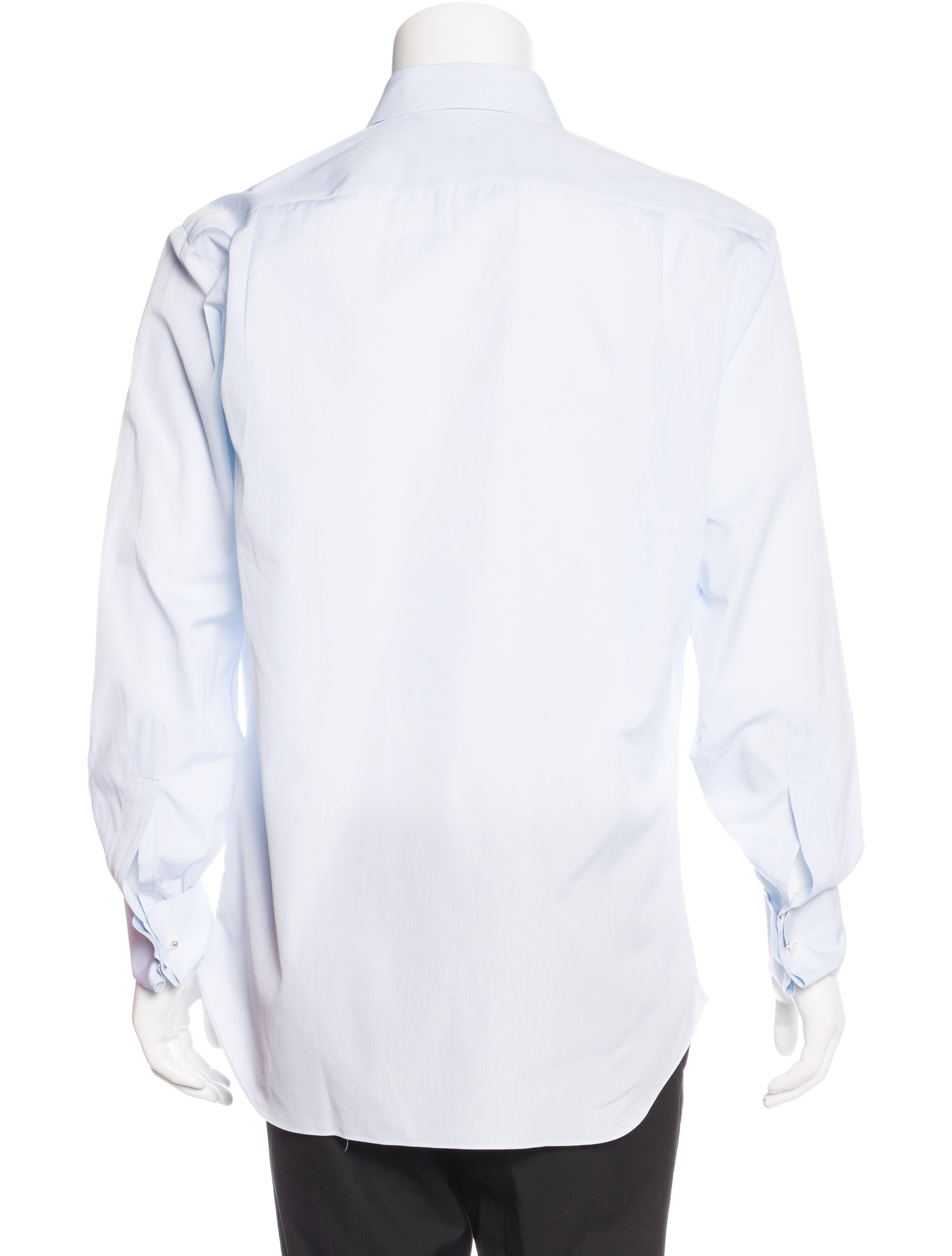 Loro Piana French Cuff Dress Shirt Clothing Lor35109