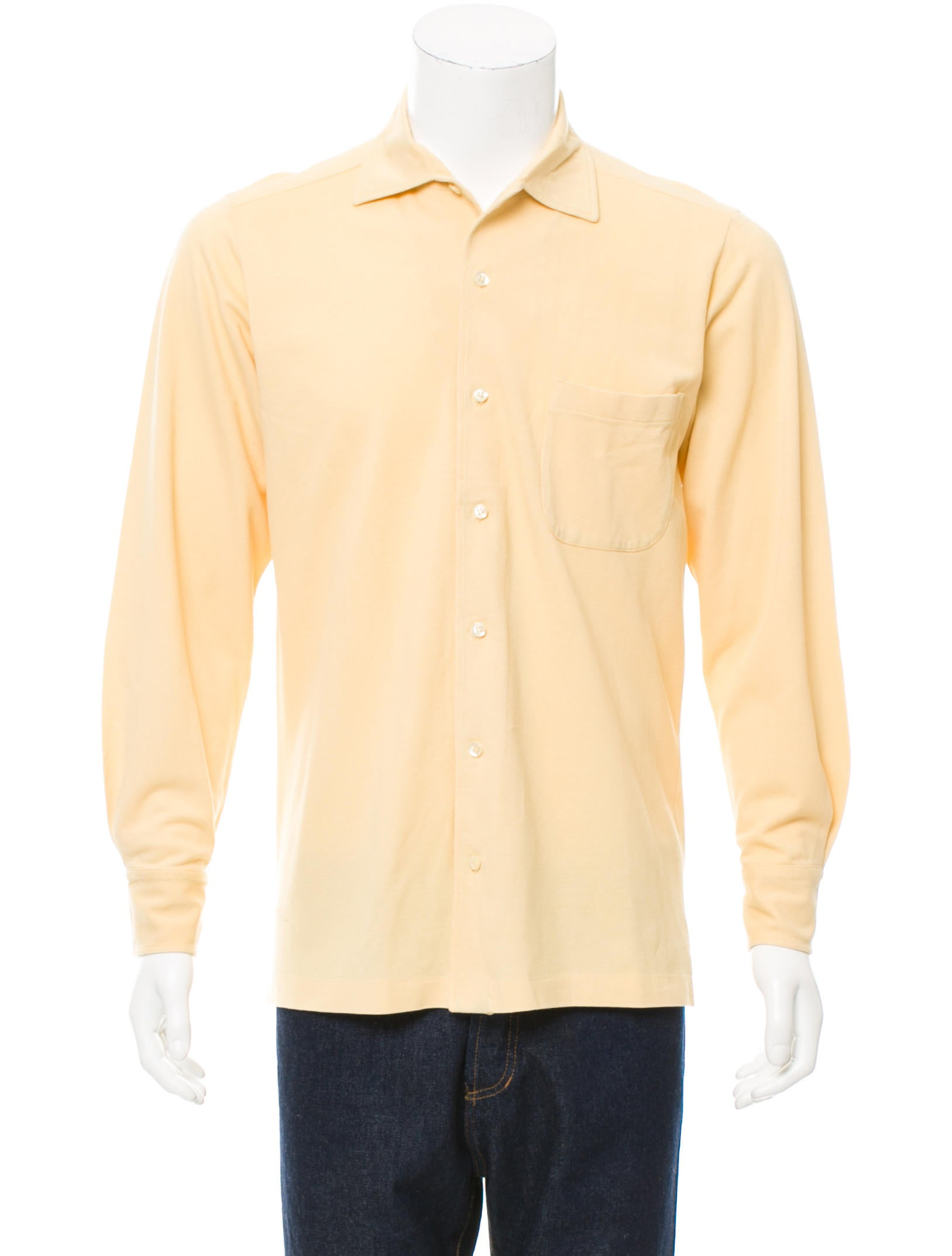 Loro piana long sleeve button up shirt clothing for Cool long sleeve button up shirts
