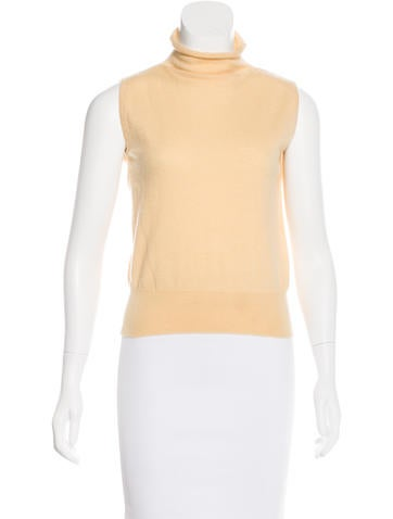 Loro Piana Cashmere Sleeveless Sweater None