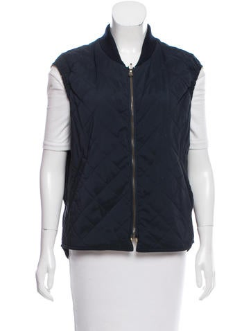 Loro Piana Lined Quilted Vest None