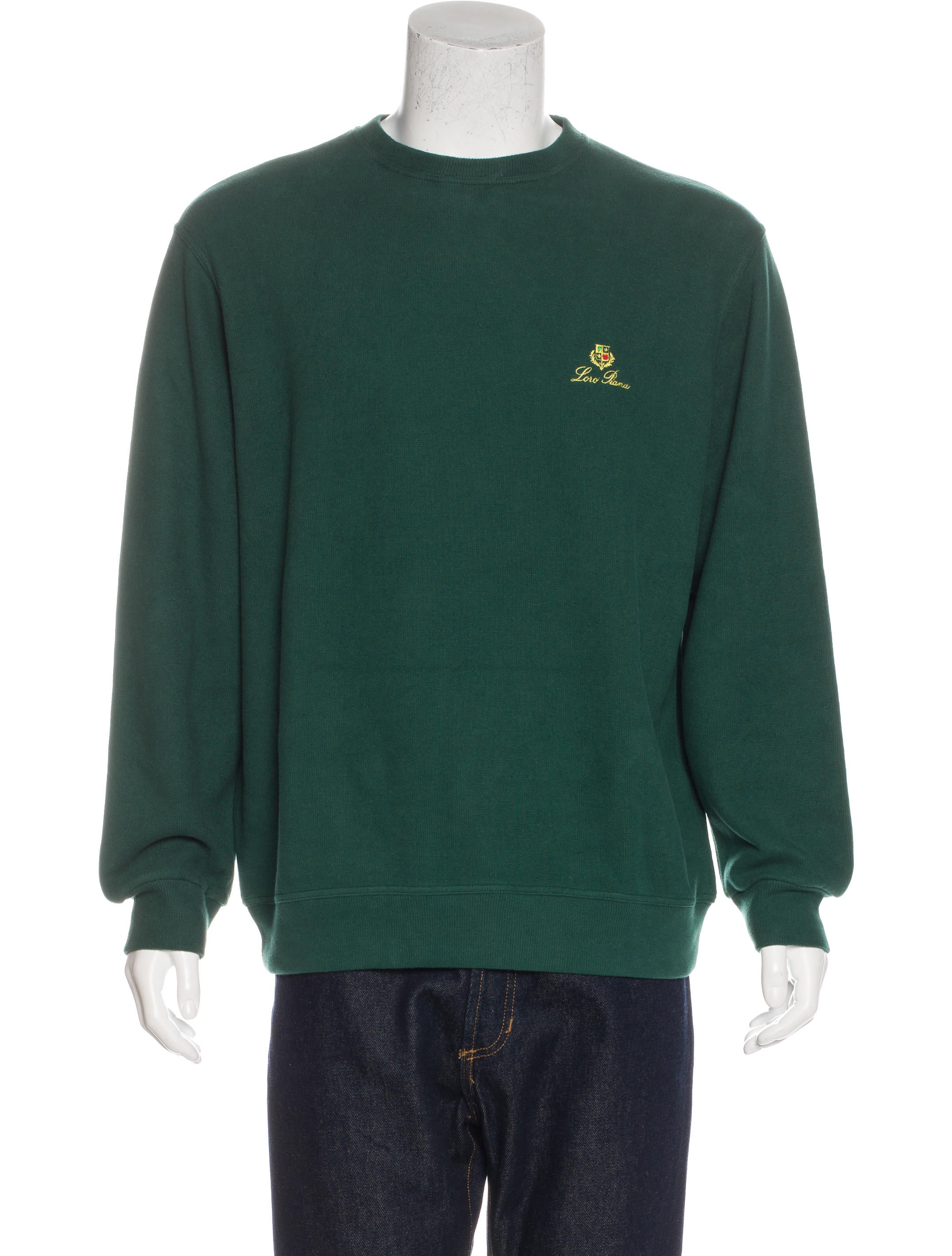 Loro Piana College Embroidered Sweatshirt w/ Tags - Clothing - LOR35502 | The RealReal
