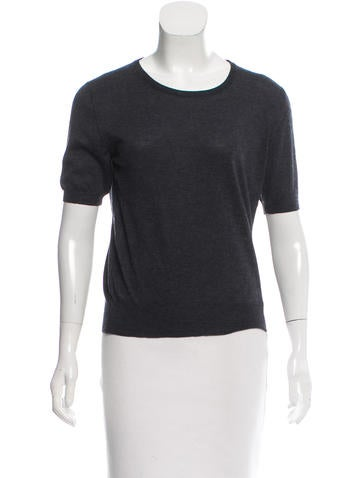 Loro Piana Cashmere Short Sleeve Top None