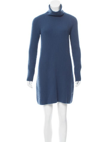 Loro Piana Rib Knit Baby Cashmere Dress None