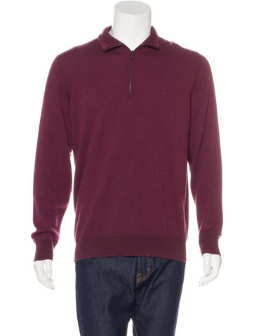 Loro Piana Roadster Pull Cashmere Sweater None