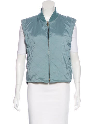 Loro Piana Quilted Casual Vest None