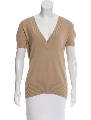 Loro Piana Hooded Short Sleeve Sweater None