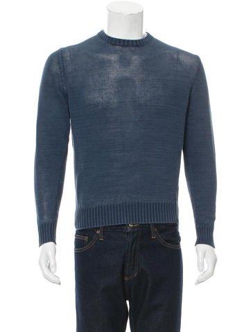 Loro Piana Linen Crew Neck Sweater None