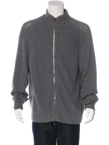 Loro Piana Baby Cashmere Zip Sweater None