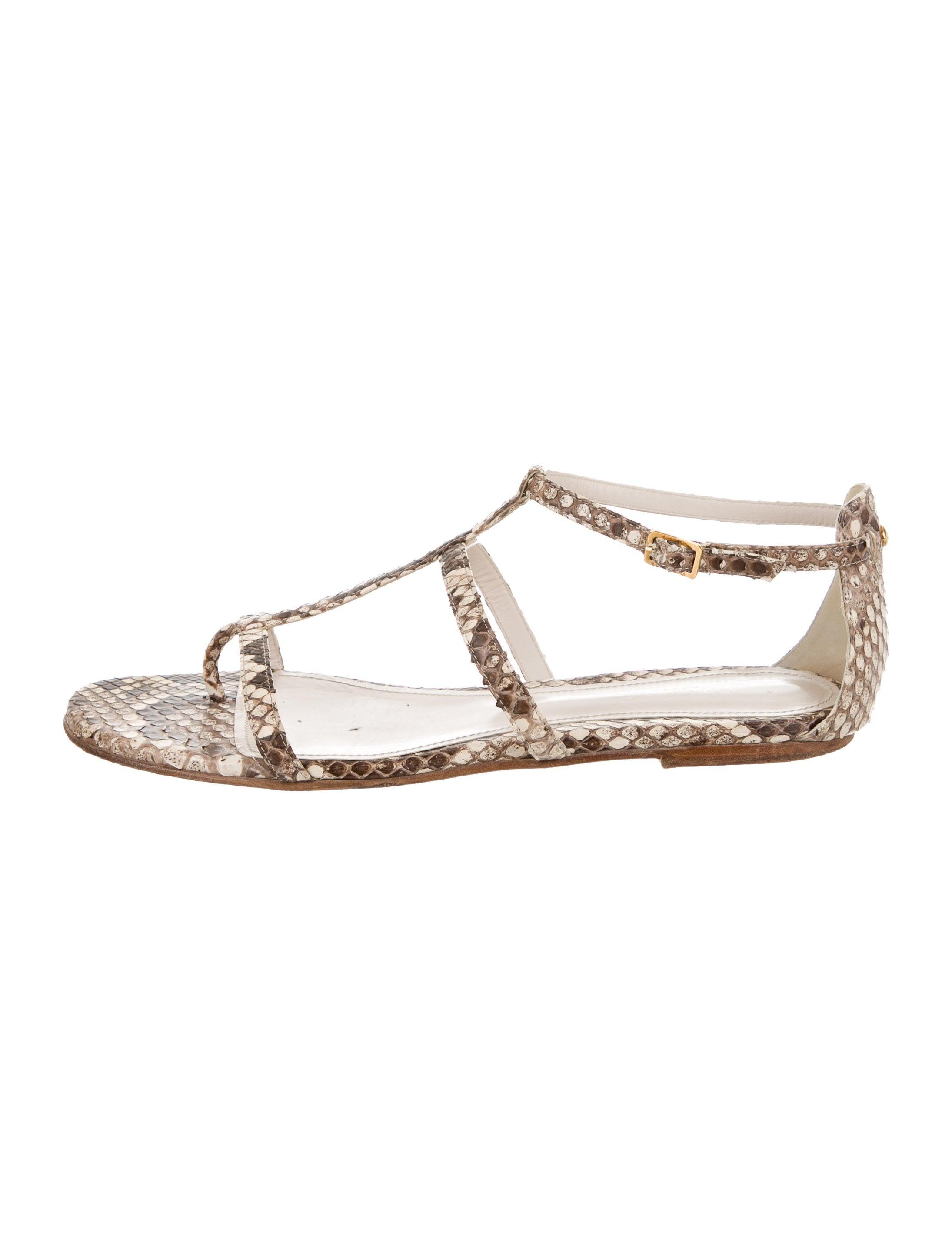 wiki Loro Piana Python Multistrap Sandals cheap sale low cost cheap fake XQikH