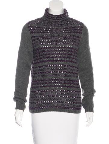 Loro Piana Cashmere Open Knit Sweater None