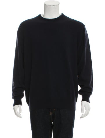 Loro Piana Cashmere Crew Neck Sweater None