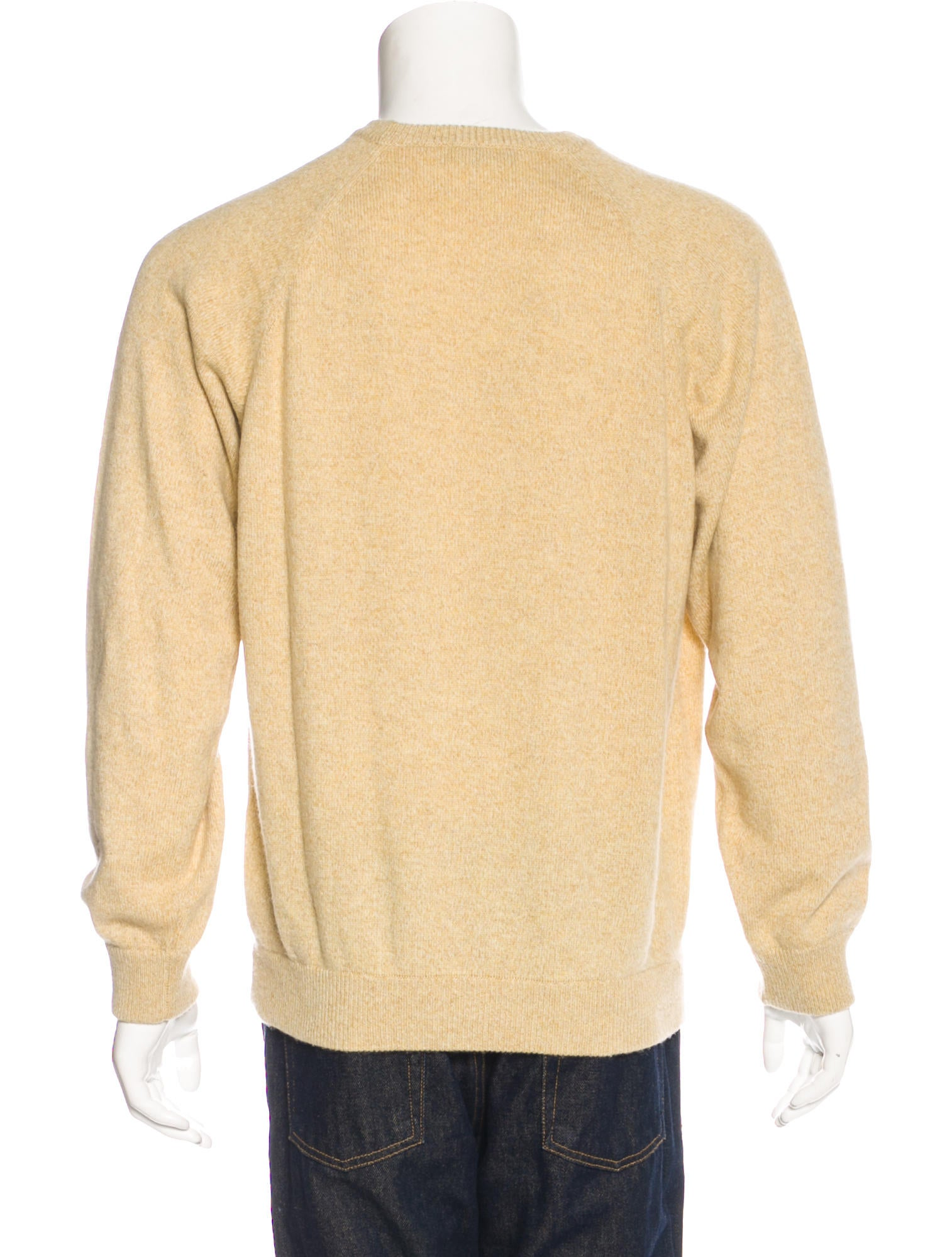 Loro Piana Cashmere Crew Neck Sweater - Clothing - LOR38141 | The ...