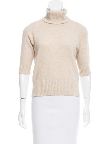 Loro Piana Cashmere Turtleneck Sweater None