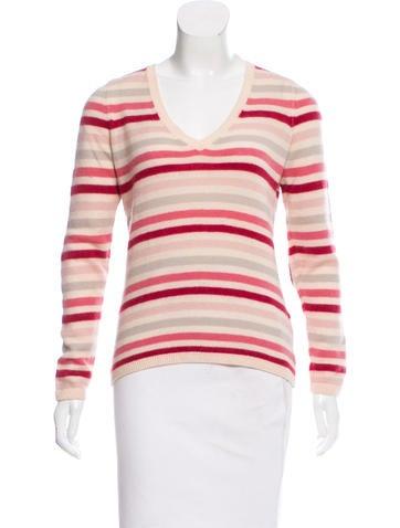 Loro Piana Suede-Accented Cashmere Sweater None
