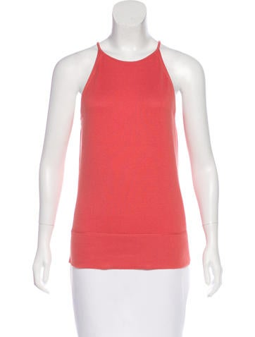 Loro Piana Sleeveless Knit Top None