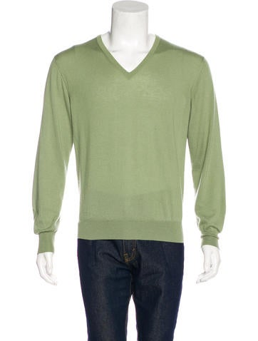 Loro Piana Cashmere V-Neck Sweater None