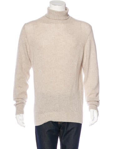 Loro Piana Baby Cashmere Turtleneck Sweater None