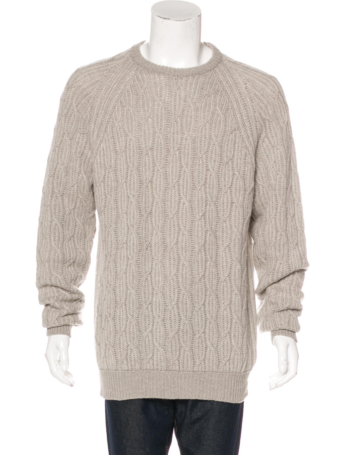 Loro Piana Baby Cashmere Cable Knit Sweater - Clothing - LOR38777 ...