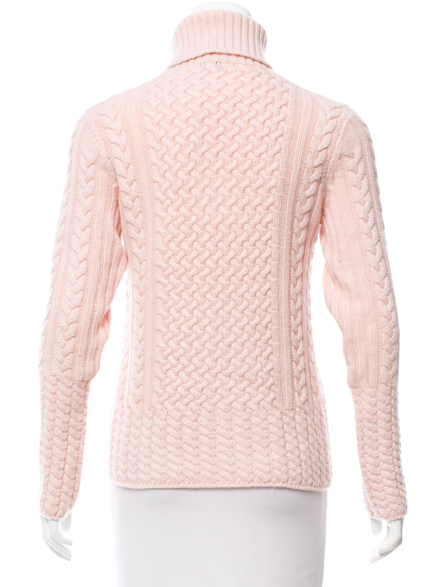 Loro Piana Cashmere Cable Knit Sweater - Clothing - LOR38935 | The ...