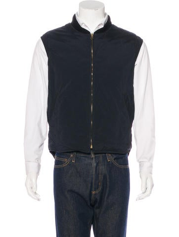 Loro Piana Cashmere-Lined Quilted Vest None