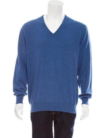 Loro Piana Baby Cashmere V-Neck Sweater None