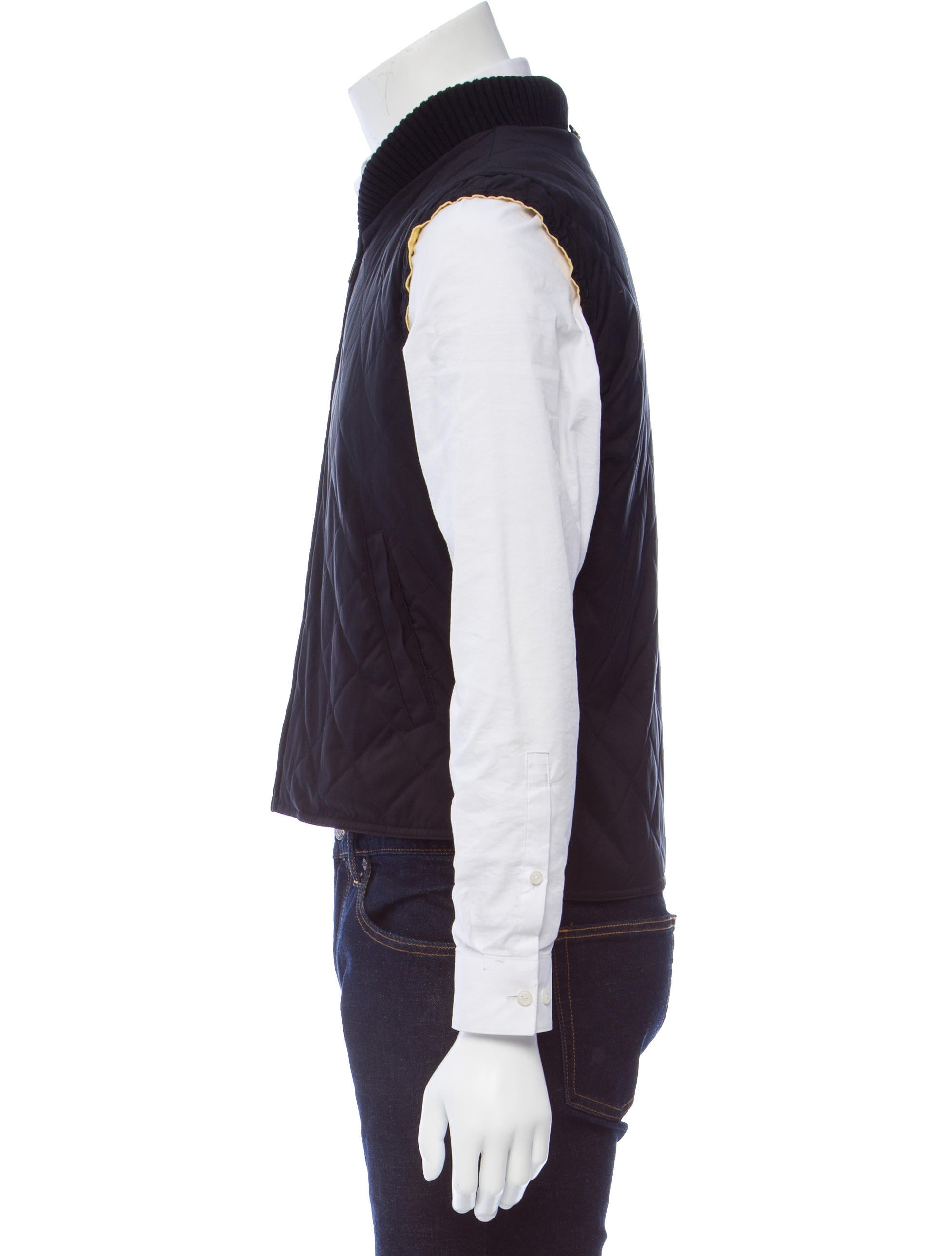 Loro Piana Quilted Zip-Front Vest - Clothing - LOR39329 | The RealReal : quilted zip front vest - Adamdwight.com