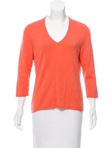 Loro Piana V-Neck Cashmere Sweater None