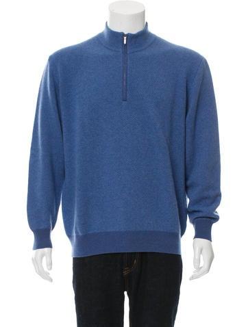 Loro Piana Roadster Pull Cashmere Sweater None