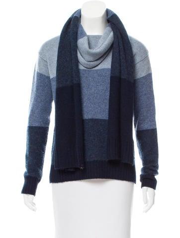 Loro Piana Cashmere Colorblock Sweater None