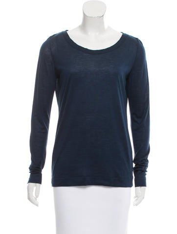 Loro Piana Cashmere Long Sleeve Top None