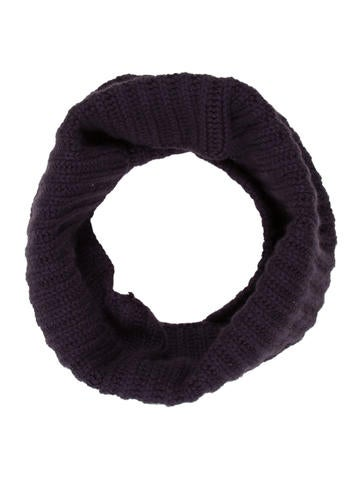 Loro Piana Cashmere Rib Knit Snood None