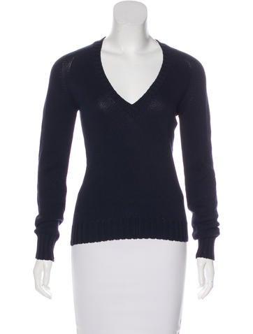 Loro Piana Long Sleeve Lightweight Sweater None