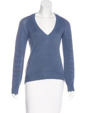 Loro Piana Long Sleeve Knit Sweater None