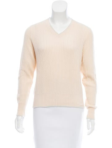Loro Piana Long Sleeve Cashmere Sweater None