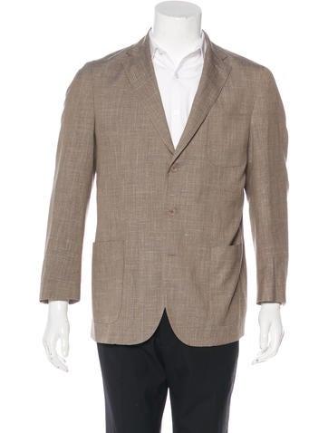 Loro Piana Virgin Wool & Silk Blazer w/ Tags None