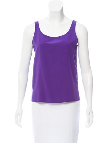 Loro Piana Silk Sleeveless Top None