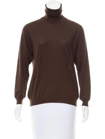 Loro Piana Cashmere Knit Turtleneck None