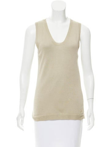 Loro Piana Silk-Blend Top None