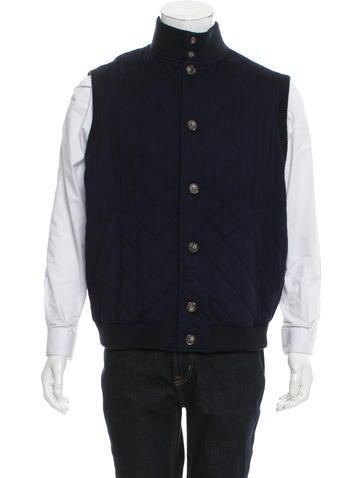Loro Piana Quilted Cashmere Vest None