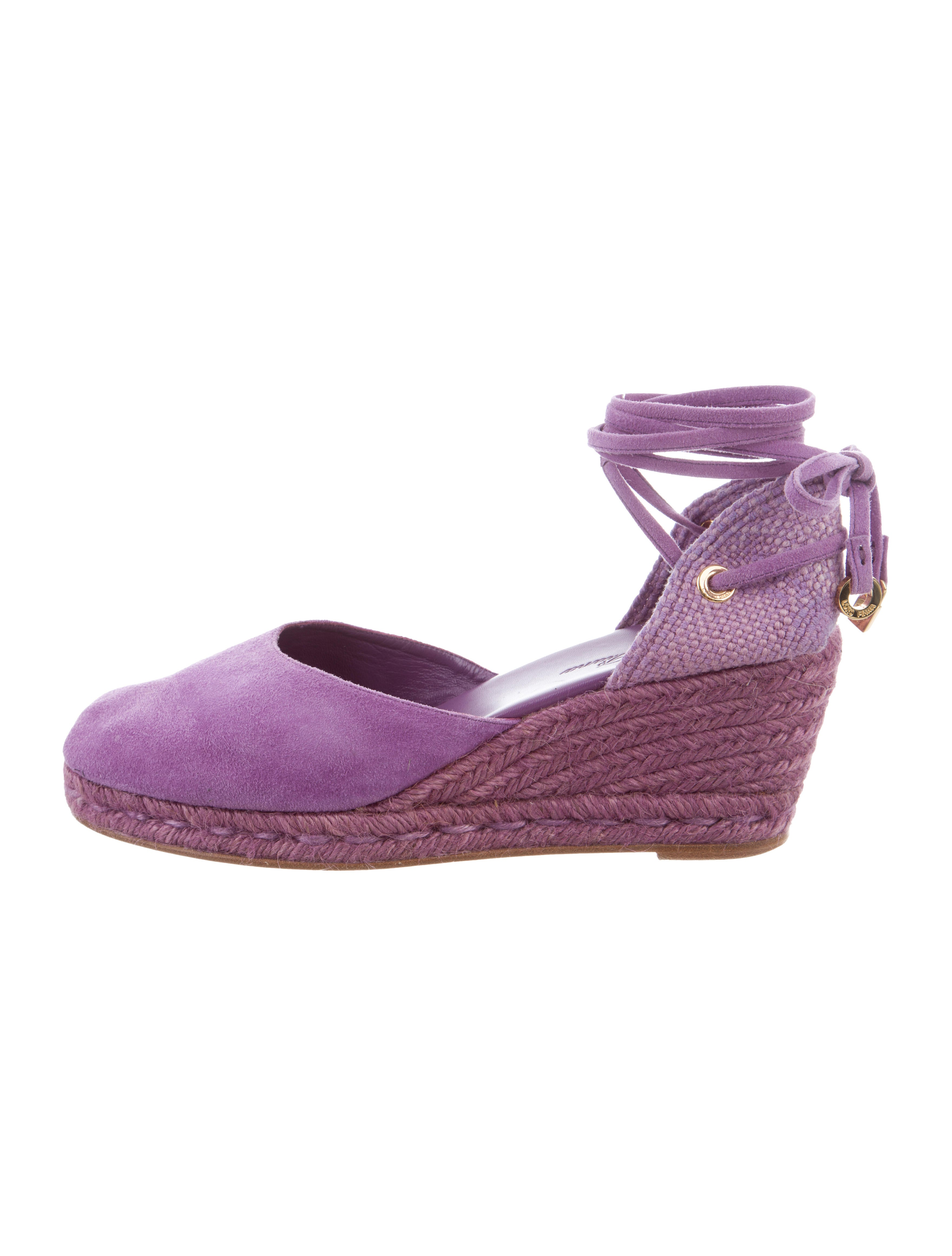 Loro Piana Suede Espadrille Wedges under $60 reliable cheap online nicekicks cheap online RleCD6rR3X