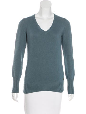 Loro Piana Baby Cashmere V-Neck Sweater None