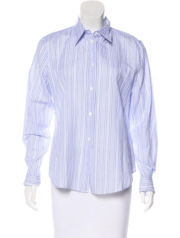 Loro Piana Linen-Blend Top w/ Tags None
